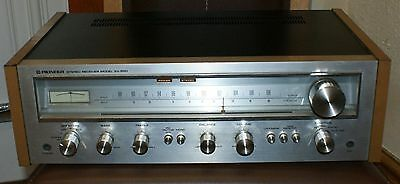 RARE Vintage 1970s PIONEER SX-550 AM/FM Stereo Receiver