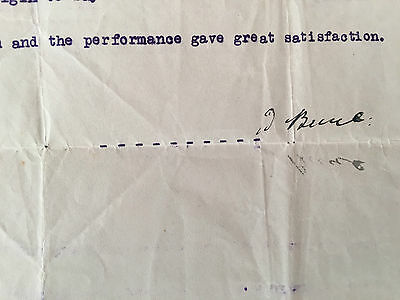 COUNTESS OF ELGIN LETTER AND EDWARD BRUCE 10th EARL SIGNED LETTER C 1926