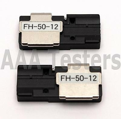 Fujikura FH-50-12 Fiber Holder Set For Fujikura Ribbon Fusion Splicers FH 50 12