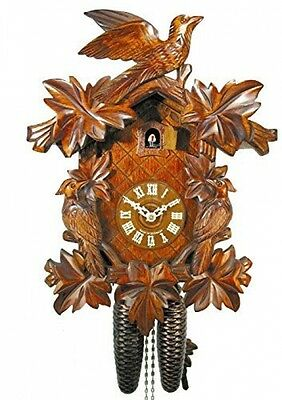 Original German Cuckoo-clock (certified), Mechanical 8-day Movement With 3 And