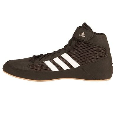 NEW Men's Adidas HVC Boxing Shoes Mid-Top Size: 9 Color: Black