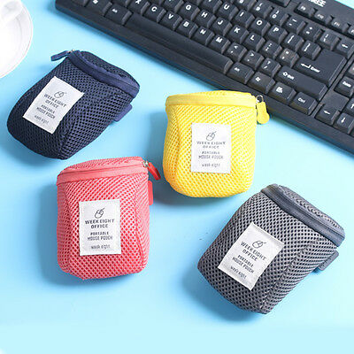 Portable Hard Drive Carrying Case USB Cable Memory Card Charger HDD Pouch