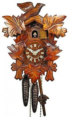 German Cuckoo/coo-coo Clock Black-Forest, Mechanical 1-day Movement With 3 And