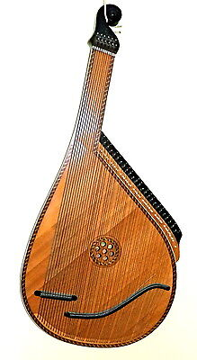 Ukrainian Bandura traditional folk harp,  good quality instrument for pro use.