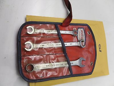 """4368) Proto Tools Double Open End Flare Nut Line Wrench Set Challenger 9/16"""""""