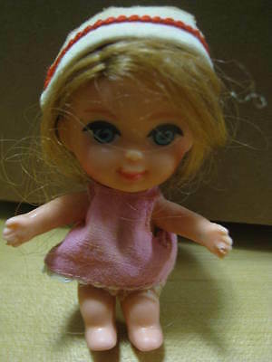 Mattel 1965 Liddle Kiddle Nurse Florence Niddle Doll with Original Outfit