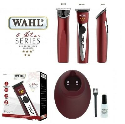 Wahl Professional 5 Star T-Cut Rechargeable Shaver/trimmer Three Pin Uk Plug