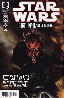 Star Wars Darth Maul: Son Of Dathomir #1 Dark Horse Comics Htf