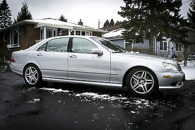 Mercedes-Benz: S-Class S55 AMG 2003 Mercedes S55 AMG Fully Loaded S-Class Supercharged Kompressor Nice