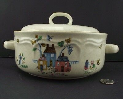 Round Covered Vegetable Bowl Or Serving Dish  International China Heartland