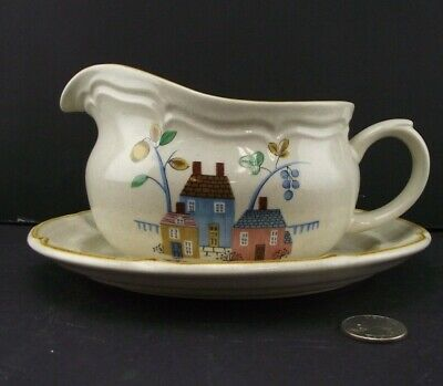 Gravy Boat With Under Plate Heartland  International China Japan