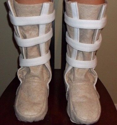 "Hoth ""Snow Boots"" Shoe Covers for a Luke Skywalker or Han Solo Costume NEW FOOT"