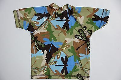 Boys Flippers Rash Shirt/ Rashie/ Swimmer/ Bathers - Size 0 BNWT NEW