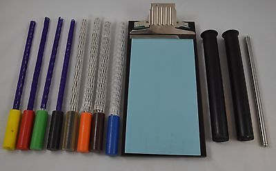 K Hand Coater Bars & Bed Set Ink Paint Lacquer Color Gloss Quality Control
