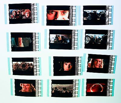 The Lord of the Rings The Fellowship of the Ring - 12  pack - 35mm Film Cell Lot