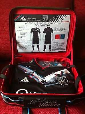 lyon 3D techfit football shirt in special case - olympique lyon.