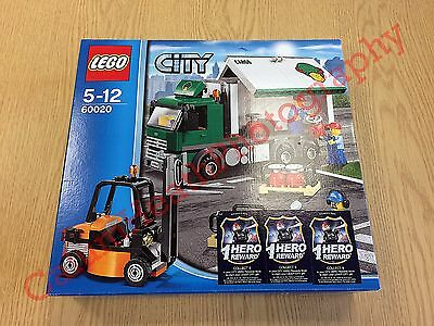 LEGO City 60020 Cargo Truck from 2013 | New, Unopened, Rare - See Description