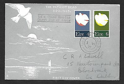1972     FDC   THE PATRIOT DEAD     Harp