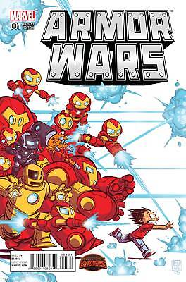 ARMOR WARS #1 SKOTTIE YOUNG BABY VARIANT (Marvel Secret Wars 2015 1st Print)