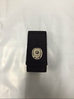 NYLON POLICE SECURITY DETECTIVE HANDCUFF STRAP HOLDER CASE fits DUTY BELT NEW