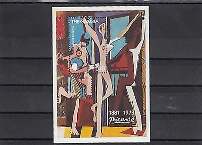 D 43666 / Art Gemälde Picasso ** MNH Gambia