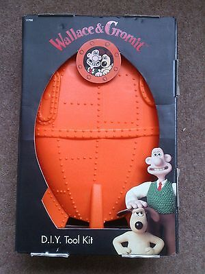 Vintage Wallace & Gromit Space Rocket Tool Kit Box Collectors Mib Grand Day Out