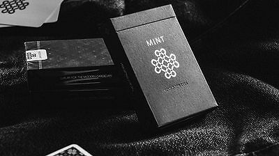 Black Mint Limited Custom Playing Cards Magic Cardistry Magic Marked Poker Deck!