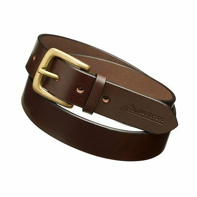 """Pampeano Gentlemans """"Papa"""" Leather Belt - Brown - Size 120cm - Hand Crafted -New"""