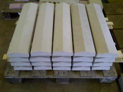 "Coping stones, (5.5"") 140mm x 600mm Twice weathered, various colours - delivery"