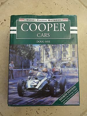 Cooper Cars by Doug Nye - Fourth Edition - book