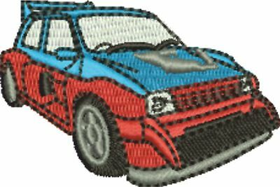Rally Car 2 Embroidered & Personalised Sweat Shirt