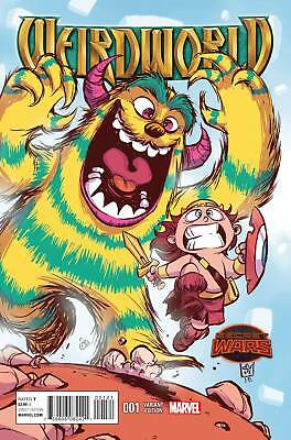 WEIRDWORLD #1 SKOTTIE YOUNG VARIANT (Marvel Secret Wars 2015 1st Print) COMIC
