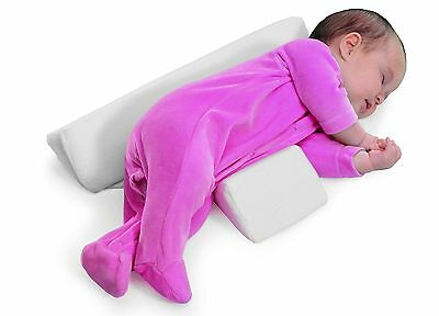 Infant Sleep Pillow Support Wedge Baby Anti Roll Pillow Safe Head Positioner