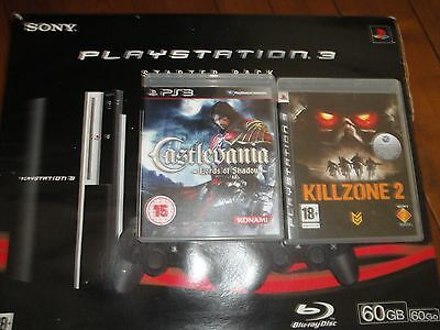 Playstation 3 (60GB console) + games