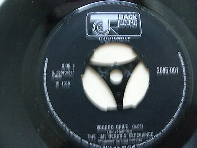 Jimi Hendrix:voodoo Chile+Hey Joe+All Along The Watchtower.1970 Track.near Mint!