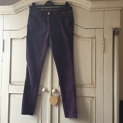 Gorgeous Skinny Matalan Purple Denim Jeans Aged 15 Years Candy Couture