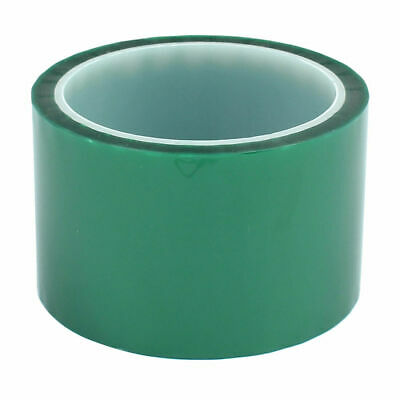 """1mil High Temp Green Polyester Masking Tape for Powder Coating- 2""""x 72 yds New"""