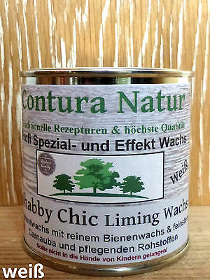 Shabby Chic Lime Wax Liming- Wood Soft Wax Furniture Wax white Chalk color