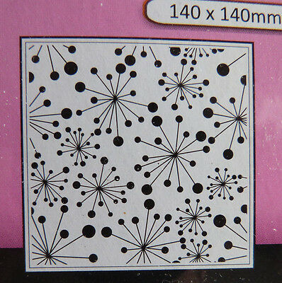 Crafts-Too/CTFD3105/Square/Embossing /Folder/Frame/Snowflake/Christmas
