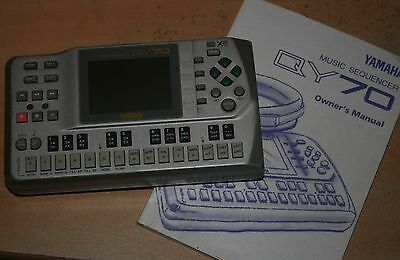 YAMAHA QY-70 MUSIC SEQUENCER. Excellent condition. Battery power too