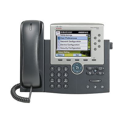 Cisco Unified IP Phone 7965G 7965 Gig Ethernet Color CP-7965G