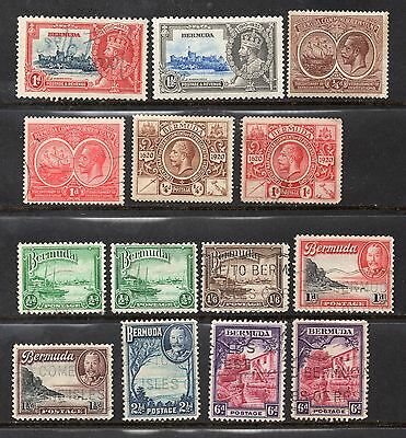 BERMUDA - KGV -  COLLECTION - M/H & Used - See scan