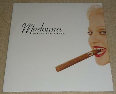 "MADONNA Deeper And Deeper US PROMO DOUBLE 12"" VINYL SINGLE PRO-A-5928 MINT!!"