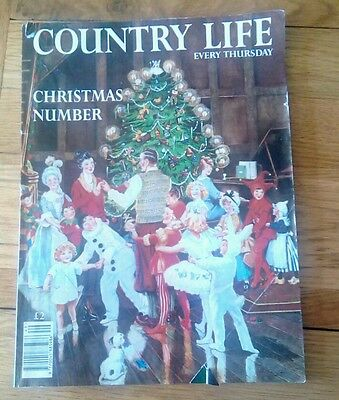 Country Life magazine Christmas number December 1995