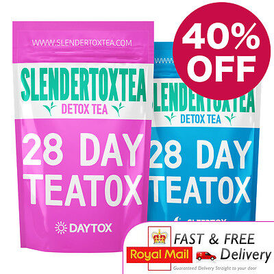 Slendertoxtea 28 Day Teatox 40% OFF - slimming tea, weight loss, detox tea