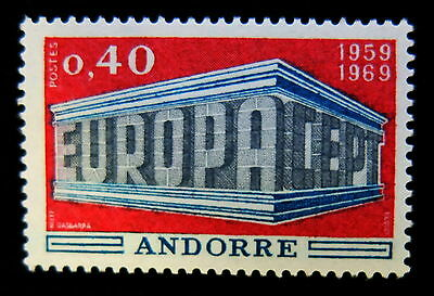 Timbres poste France Andorre n° 194