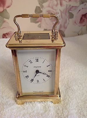 Bayard 8 Day Carriage Clock , Duverdrey And Bloquel Made In France, GWO