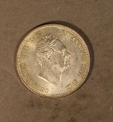 1836 Great Britain 4 Pence Groat William IV High Grade  ** FREE U.S. SHIPPING **