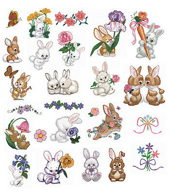 25 Bountiful Bunny Designs for Machine Embroidery