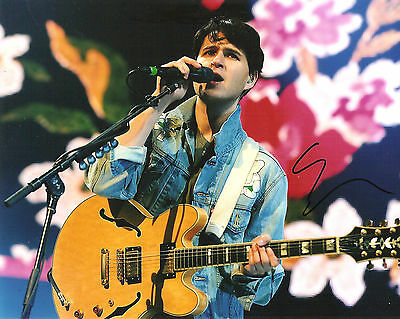 Ezra Koenig Signed 8X10 Photo Proof Coa Autographed Vampire Weekend